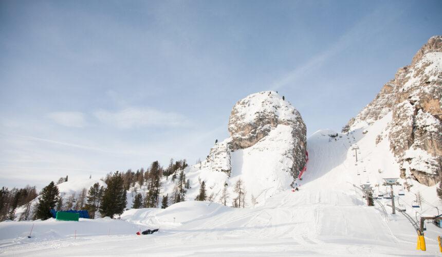 Schuss finale Tofane Cortina d'Ampezzo